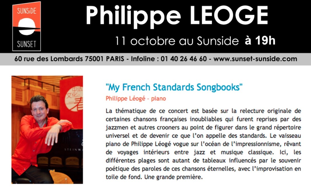 philippe leoge concert solo