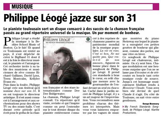 philippe leoge concert jazz sur son 31