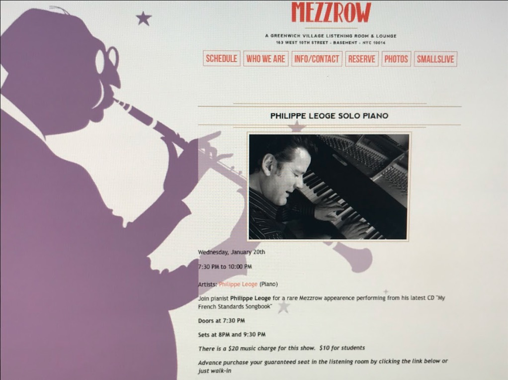 philippe leoge arrangement piano jazz